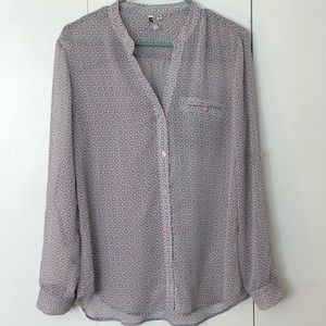 Kut from the Kloth Sheer Blouse